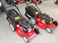 """NEW HARRY LAWNMOWERS 18"""" AND 21"""" POWER DRIVE , HONDA ENGINES , FROM £399 , BALLYNAHINCH."""