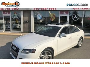 2010 Audi A4 PREMIUM|HEATED SEATS|SUNROOF|AUDI CONCERT|ALLOY