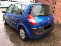 Renault Scenic 1.6 VVT Expression 5 door - 2004, MOT NOVEMBER 2017, Decent Runner, PX TO CLEAR!