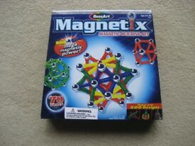 RoseArt Magnetix (Like Geomag) Magnetic Construction Building Set