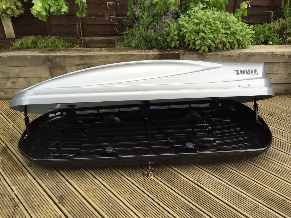 thule atlantis 780 silver roofbox in sheffield south. Black Bedroom Furniture Sets. Home Design Ideas