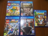 ps4 games call of duty black ops 2 and ww2 crash bandicoot lego marvel 2 lego worlds look