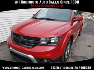 2017 Dodge Journey Crossroad AWD, DVD, NAV, BACK UP CAM
