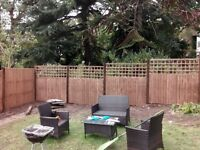 Fencing, fence repairs landscaping