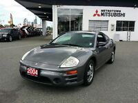 2004 Mitsubishi Eclipse GS coupe, sunroof, certified pre-owned
