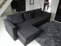 Used Sofa Bed with lots of storage space
