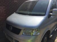 Vw t5 transport hole front end