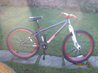 X RATED JUMP BIKE ONE OF MANY QUALITY BICYCLES FOR SALE