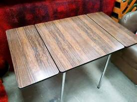 Vintage Retro 50s 60s 70s Formica Dining Table Kitchen Table