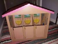Chad Valley Horse Stable Play Set