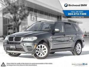 2013 BMW X5 35i Executive Comfort & Tech Package!