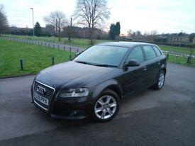 Audi A3 Sportback 1.6 TDI 105 SE – £20 tax/year- 11 months MOT **Bargain**