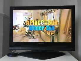 Panasonic 37 inch TV in perfect condition
