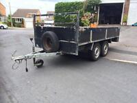 Twin axle 10 by 5 trailer