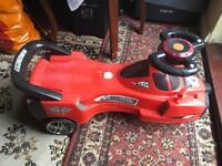 Eerrari car baby kids age 3-6yrs good condition £5