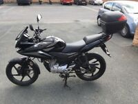 Honda CBF 125, 2011, 5000 miles, new battery, garaged.