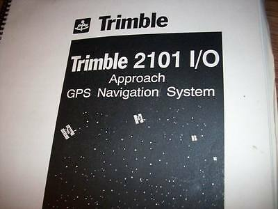 Trimble 2101 I/O Approach  install & checkout manual