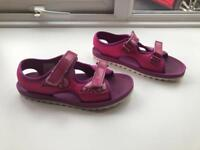 Girls Clark's sandals size 2