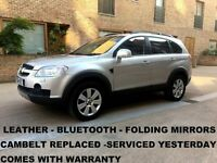 Chevrolet Captiva Chevrolet Captiva 2.0 VCDi LTX 5dr (7 Seats) │Automatic │ Leather │ Bluetooth