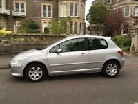 Peugeot 307, lovely condition inside and out.