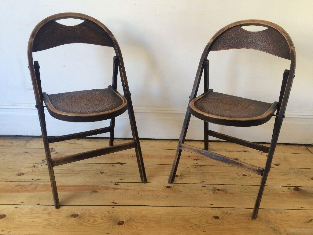 antique vintage thonet style folding bentwood chairs mundus fischel in bishopston bristol. Black Bedroom Furniture Sets. Home Design Ideas