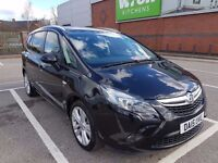 2015 vauxhall zafira tourer 2.0 diesel only 15952 milege 7 seaters like touran,sharan,s max,galaxy