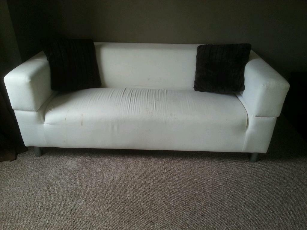 2 large 2 seater ikea sofas in malvern worcestershire. Black Bedroom Furniture Sets. Home Design Ideas