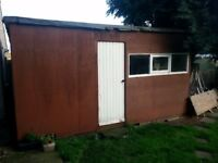 15 1/2 ft x 8 x 8ft shed GONE PENDING COLLECTION AT WKEND