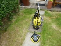 Karcher K4 Full Control Home Pressure Washer as new only used for 5 mins