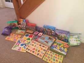 Kids / Toddler Game and Puzzle Bundle