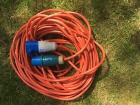 25m caravan extension cable/lead