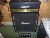 Marshall JVM 410H JS Satriani signature 100w head amplifier VGC with 1960A 4x12 speaker cabinet!