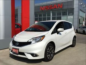 2015 Nissan Versa Note SR, backup camera, alloys, rear spoiler