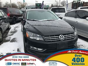 2012 Volkswagen Passat 2.5L Highline | NAV | LEATHER | ROOF