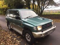 1998 MITSUBISHI SHOGUN 2.8 TD GLS LWB AUTO PAJERO 7 SEATS UK SPEC 4X4 WORKHORSE SNOW WINTER EXPORT