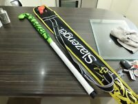 hockey stick for sale by slazenger with carry case