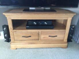 Oak Furniture Land Canterbury Corner TV Cabinet