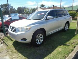 2008 Toyota Kluger GSU40R KX-R (FWD) 7 Seat Silver 5 Speed Automatic Wagon Sandgate Newcastle Area Preview