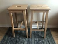 Ikea bar stools in great condition