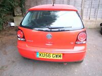 VW Polo SE 80, 1.4 Litre, 5 Door Petrol, Manual - Breaking for Parts - LP3G Flash Red