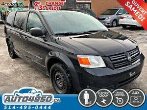 2010 Dodge Grand Caravan SE, 7 PASSAGER, DEMAREUR A DISTANCE