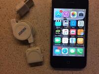 iPhone 4 16gb black unlocked