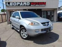 2005 Acura MDX Navigation,Camera,Dvd,Leather*Loaded*Certified*