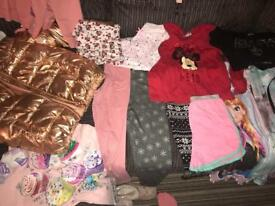 Girls clothes and boots bundle (age 6) see all pics