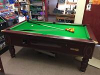 7x4 pool table inc delivery & setup