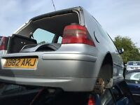 VOLKSWAGEN GOLF GTI TURBO 2001- FOR PARTS ONLY