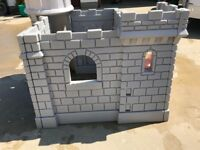 Little Tikes Classic Castle. Sturdy outdoor castle. In good condition
