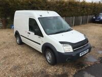 Ford transit connect LWB high top 12 months MOT with no advisories