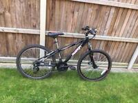 "raleigh octane bikes 20"" wheels 9-12 yrs Bike black 18 gears"
