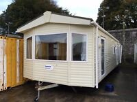 Pemberton Sovereign 2007 £5995 38x12 2 Bed double glazed unsited static caravan home accomodation